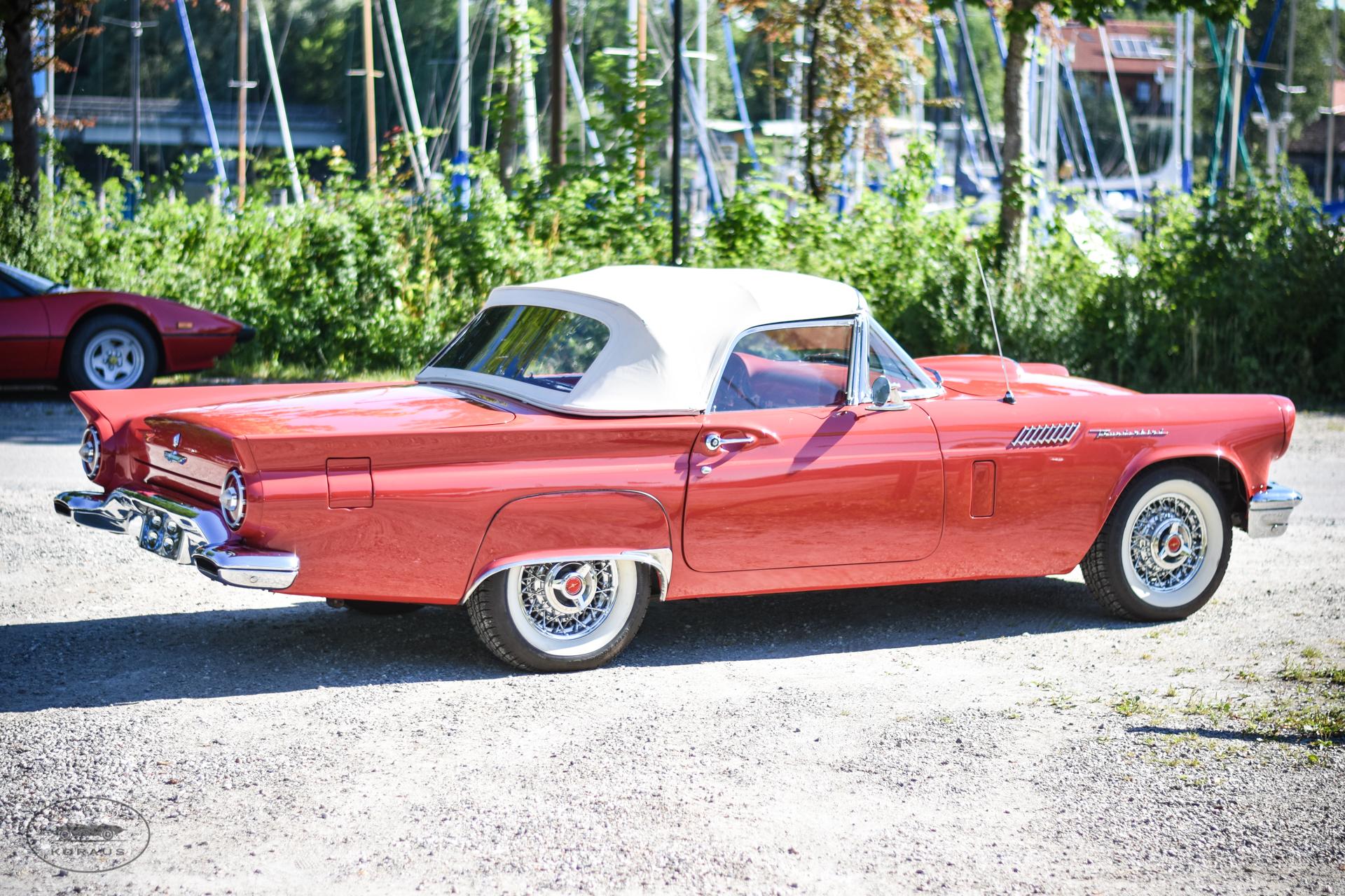 Carosseria Classica Ford Thunderbird 1957 6766