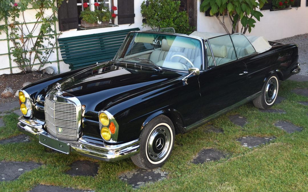 MB Cabriolet 280 SE W 111